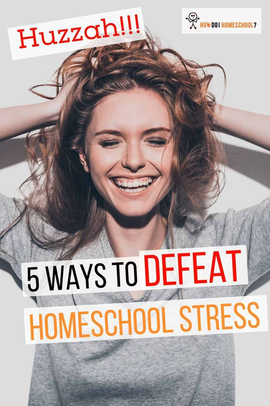 Say farewell to stress in your homeschool with these 5 ways you can extinguish stressful situations. #homeschoollife #homeschoolcurriculum