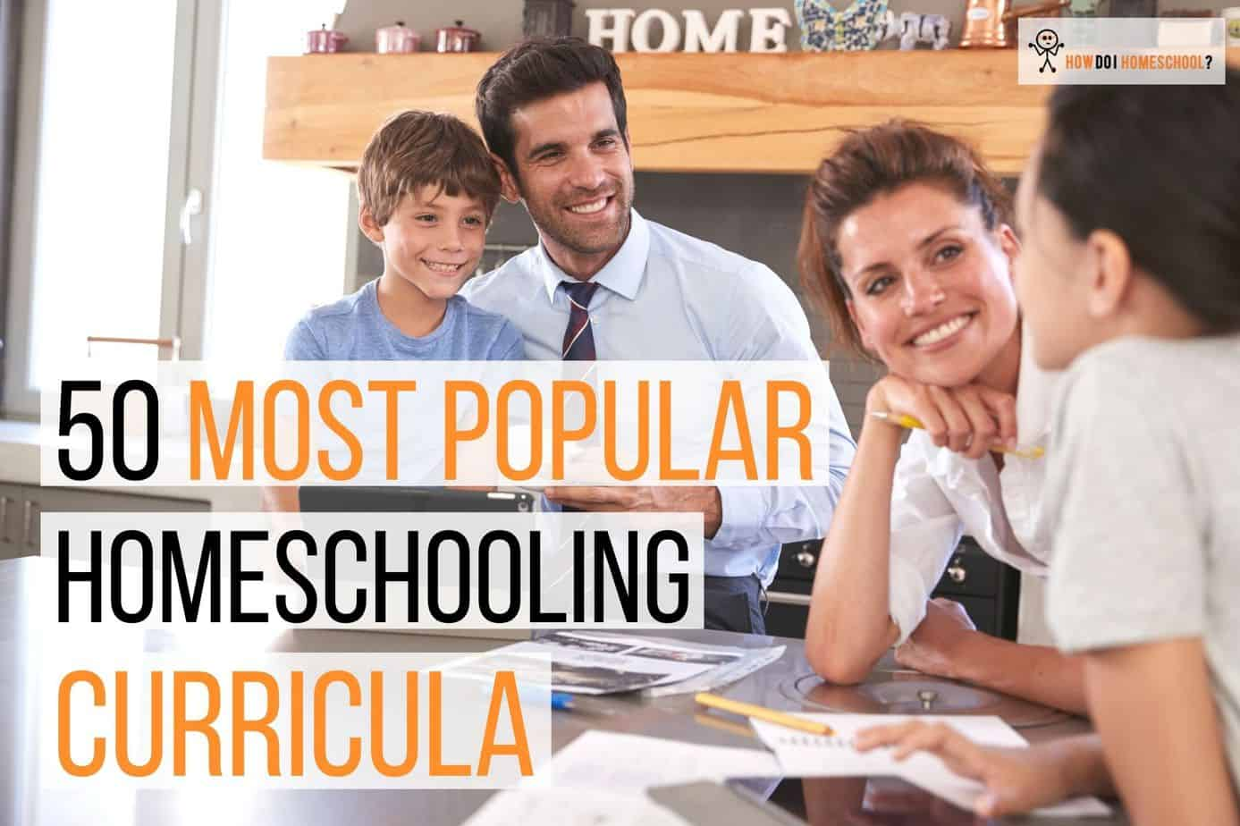 50 Most Popular Homeschool Curriculum in 2020