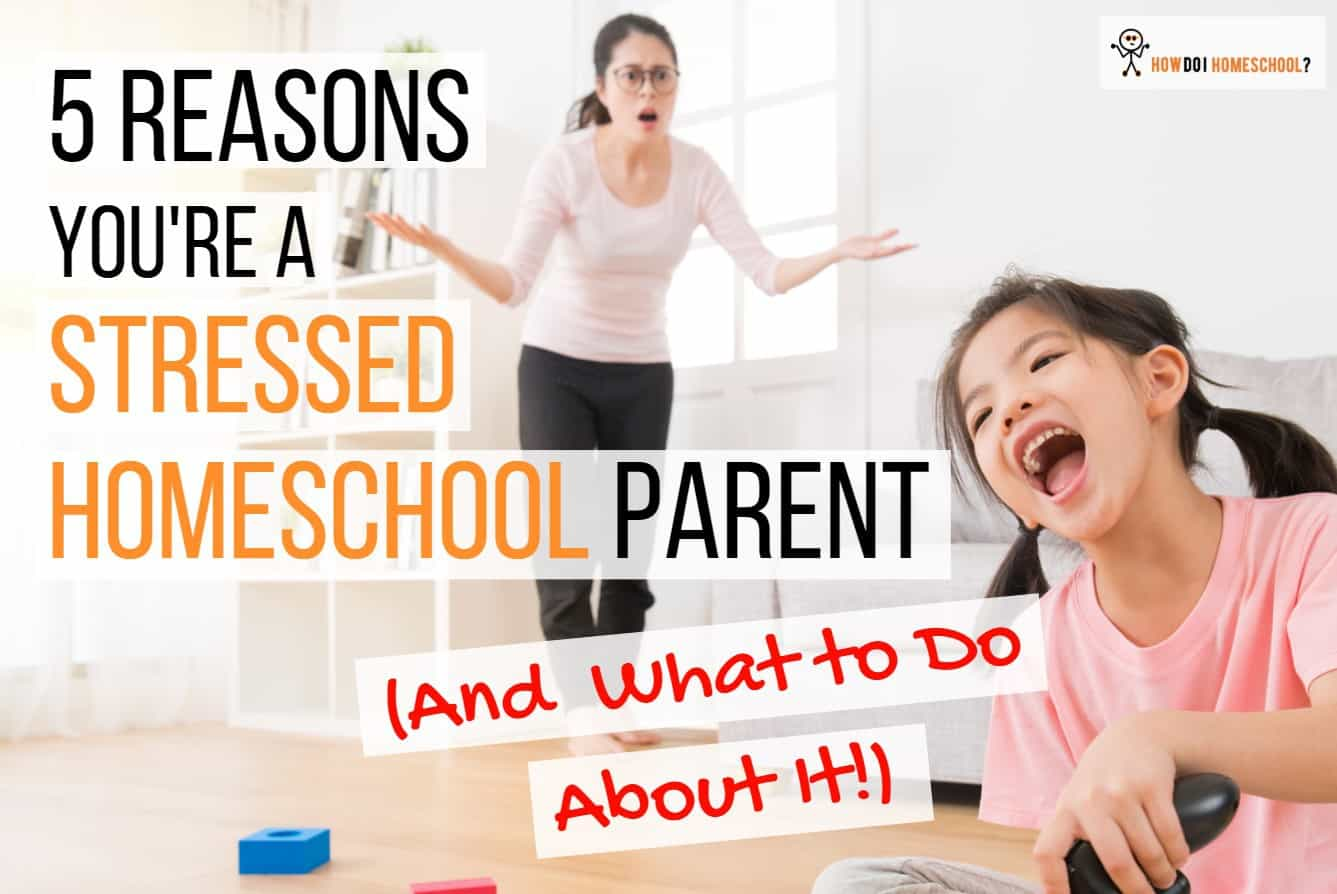 Homeschooling Stress in Parents is a Nightmare! 5 Ways To Defeat It