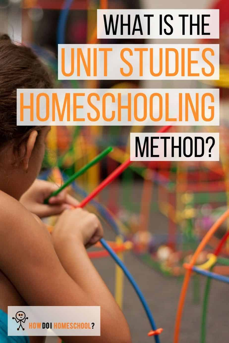 Discover the Unit Studies Homeschool Method. Is it a good option for your large family_ #unitstudies #unitstudieshomeschoolcurriculum