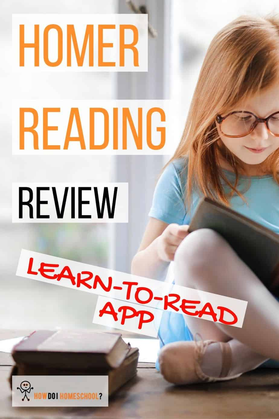 Wondering what learn-to-read program you should use? Check out the Homer Reading app. This program uses phonics and sight words in a fun, colorful presentation to engage students. Check out this review here. #homerreadingreview #homerapp
