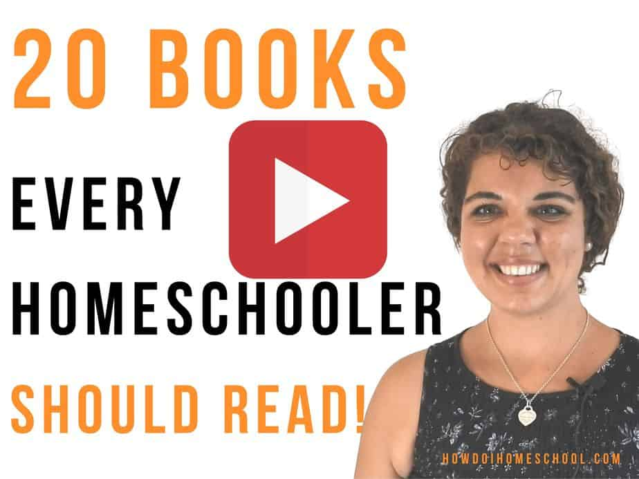 20 Books Every Homeschooler Needs to Read! (A Classical Reading List)