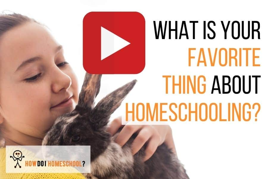 What is Your Favorite Thing About Homeschooling?
