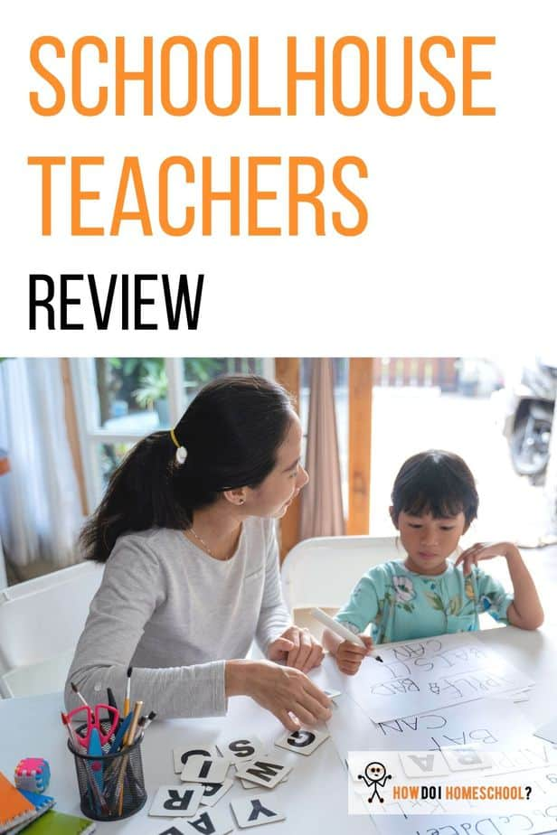 In this Schoolhouse Teachers curriculum review, you'll learn what homeschool methods they use, learning styles they target, if it's self-paced, how much it costs and what you get for your money!. #schoolhouseteachers #curriculumreview