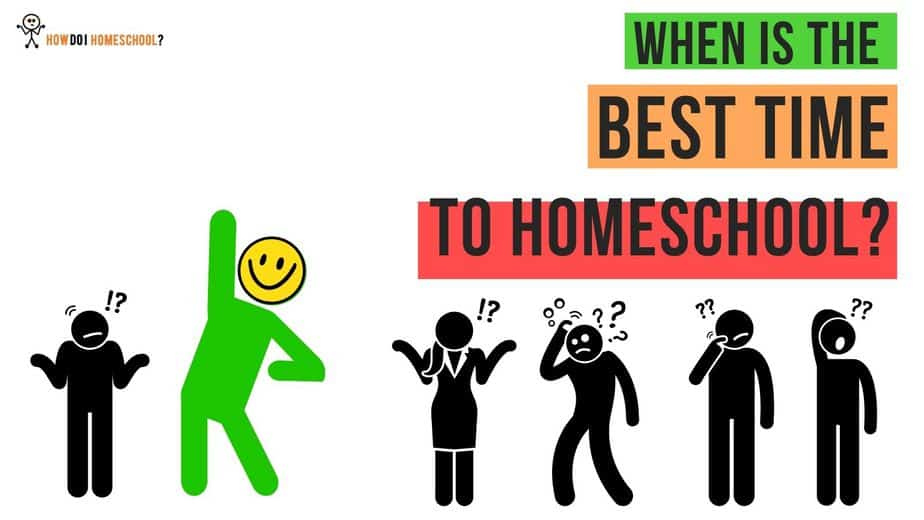 When is the best time to homeschool? It's Now! And this is why...