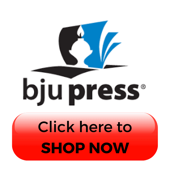BJU Press provide quality Christian homeschool curriculum for all families. They offer a mailable, traditional homeschool curriculum package. Check them out here!